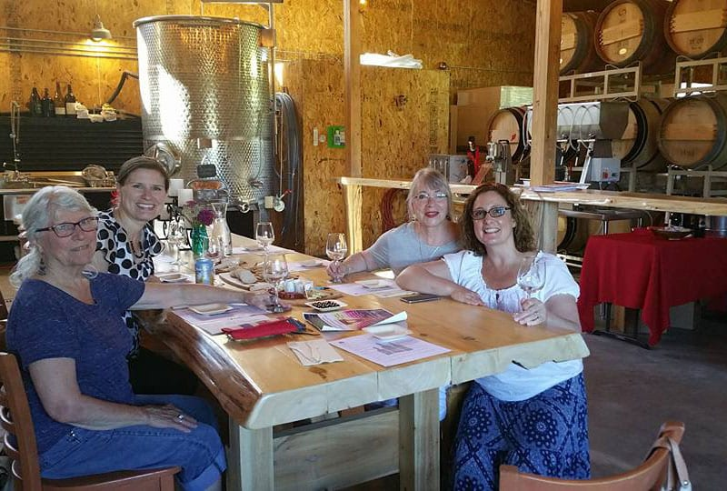 French Class at North Shore Winery